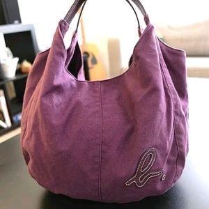 Agnes b pumpkin canvas bag